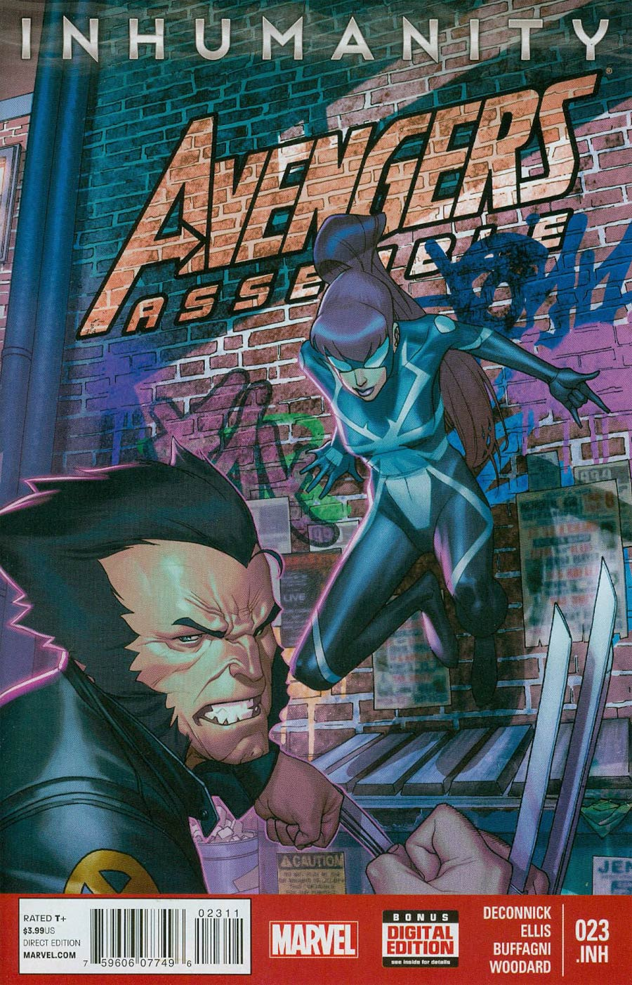 Avengers Assemble #23.INH (Inhumanity Tie-In)