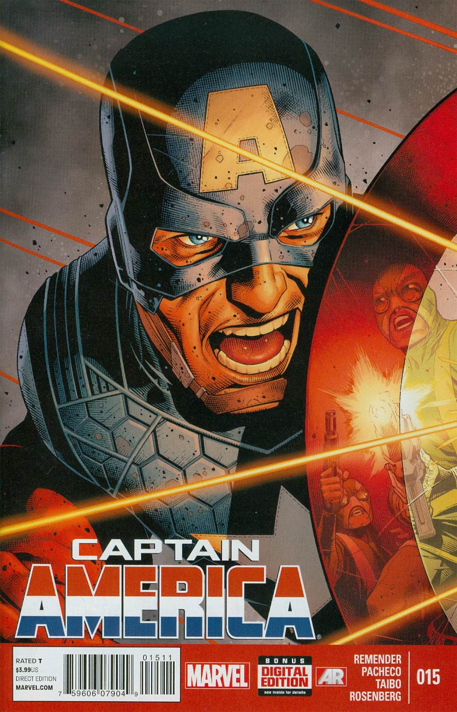 Captain America Vol 7 #15 Cover A Regular Jim Cheung Cover