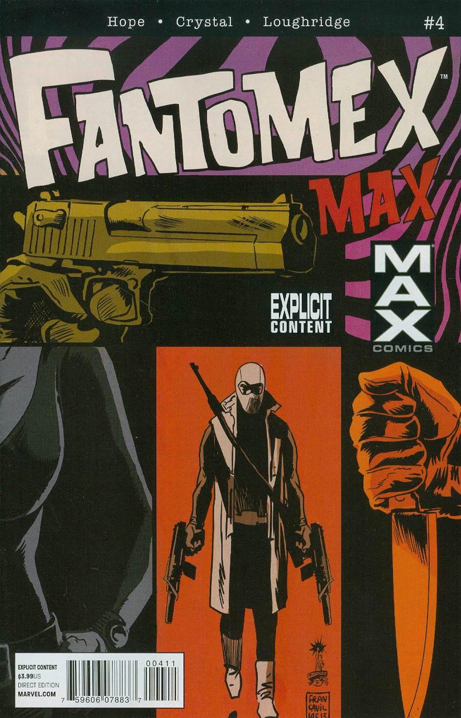 Fantomex MAX #4