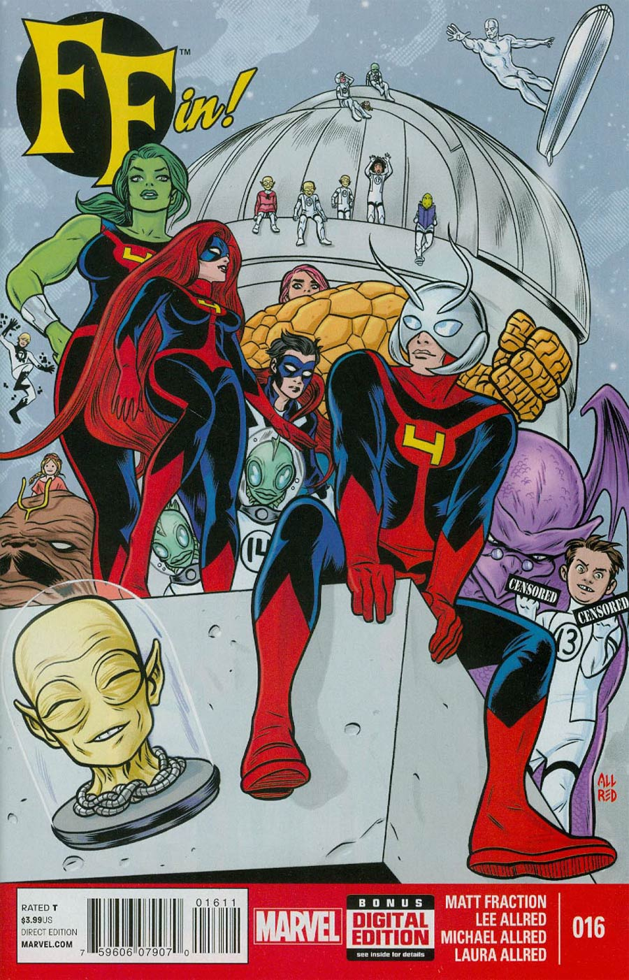 FF Vol 2 #16 Cover A Regular Mike Allred Cover