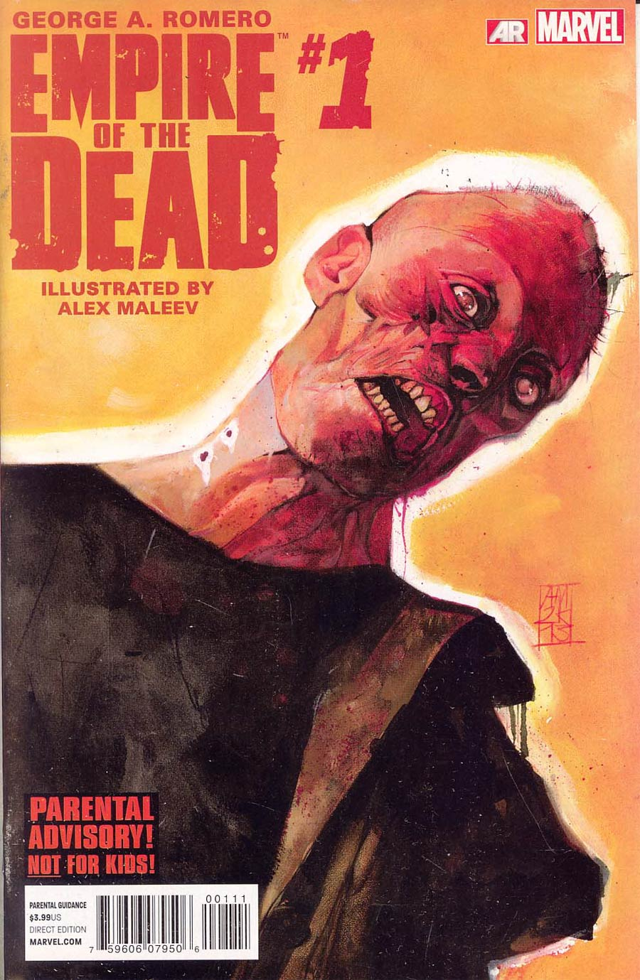 George Romeros Empire Of The Dead Act One #1 Cover A Regular Alex Maleev Cover
