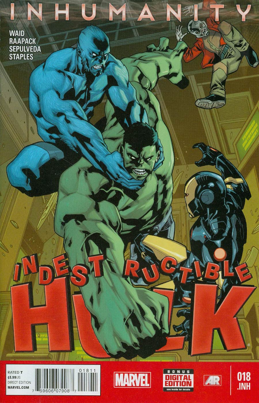 Indestructible Hulk #18.INH (Inhumanity Tie-In)