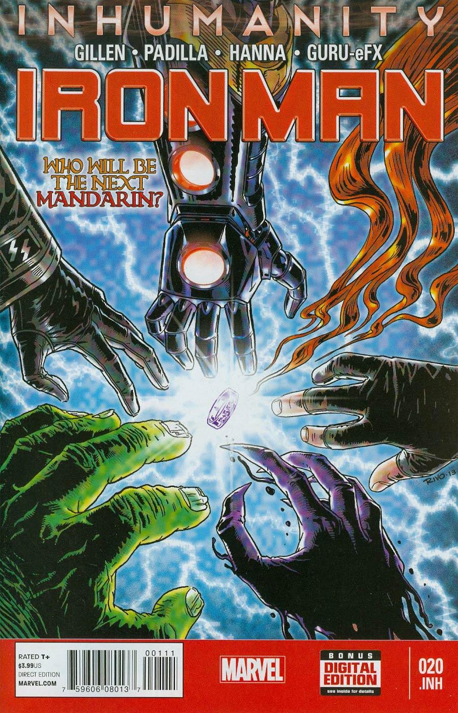 Iron Man Vol 5 #20.INH (Inhumanity Tie-In)