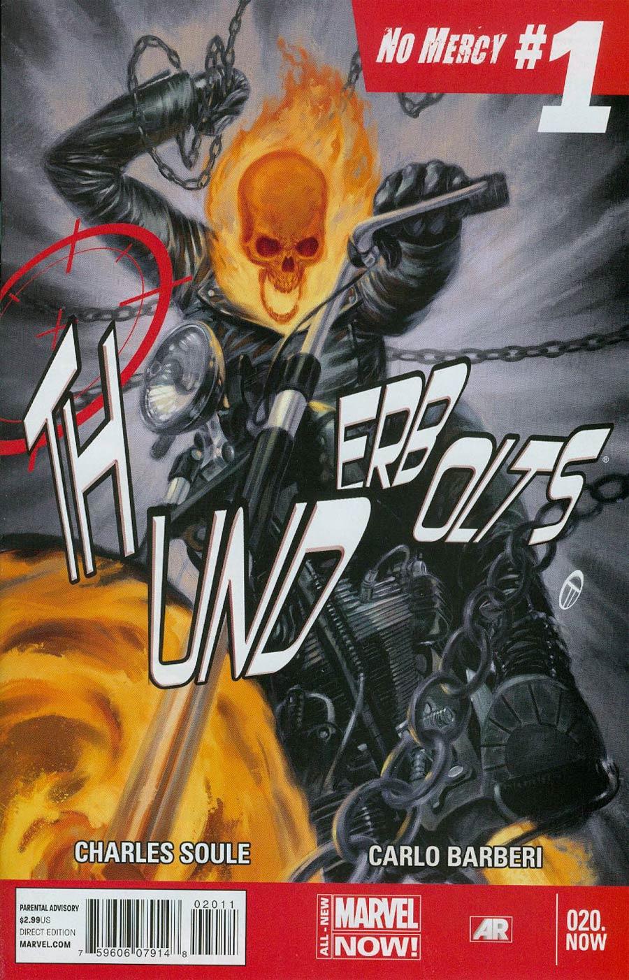Thunderbolts Vol 2 #20.NOW Cover A 1st Ptg Regular Julian Totino Tedesco Cover