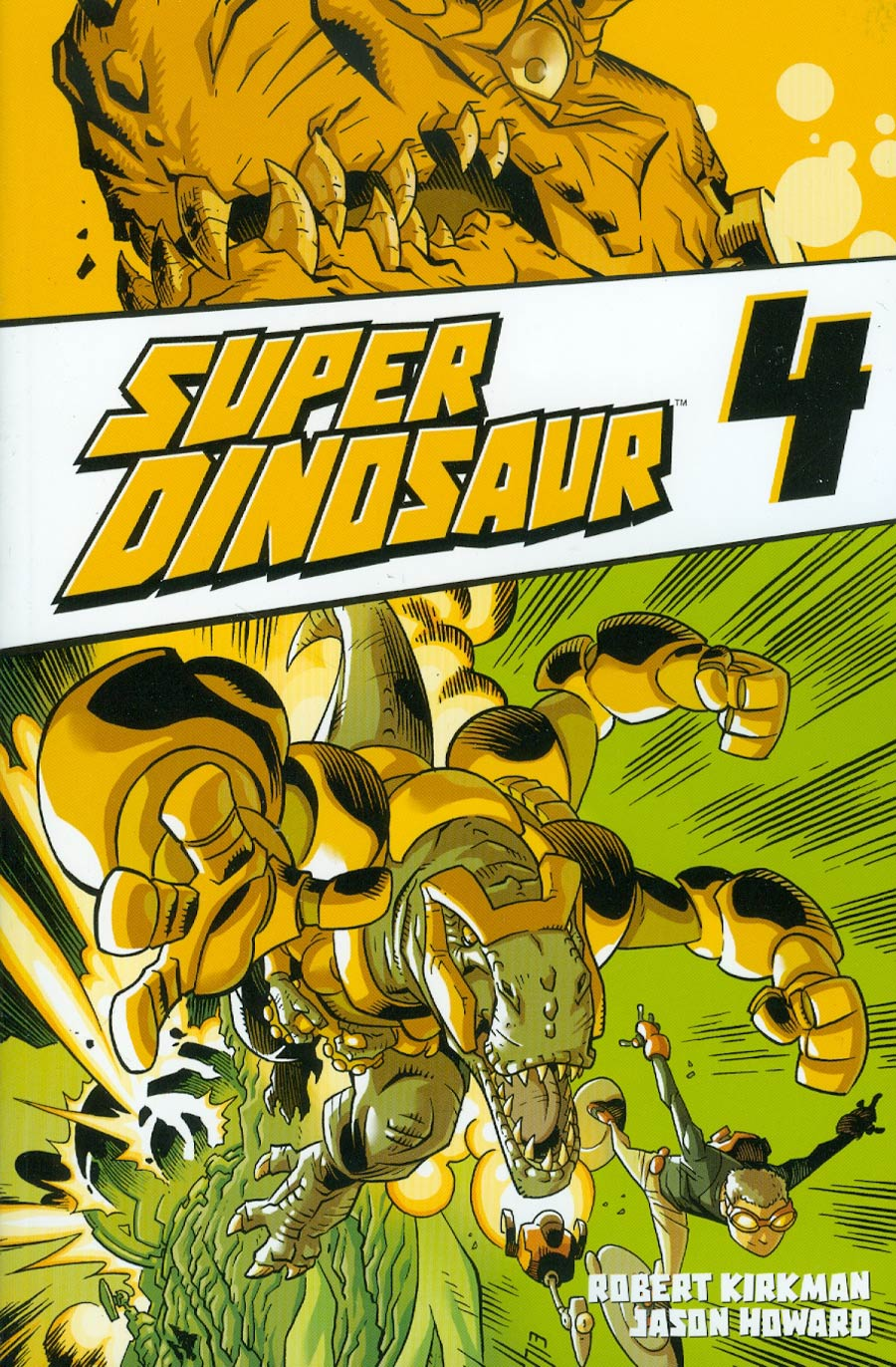 Super Dinosaur Vol 4 TP
