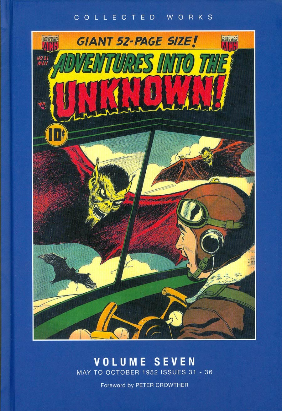 ACG Collected Works Adventures Into The Unknown Vol 7 HC