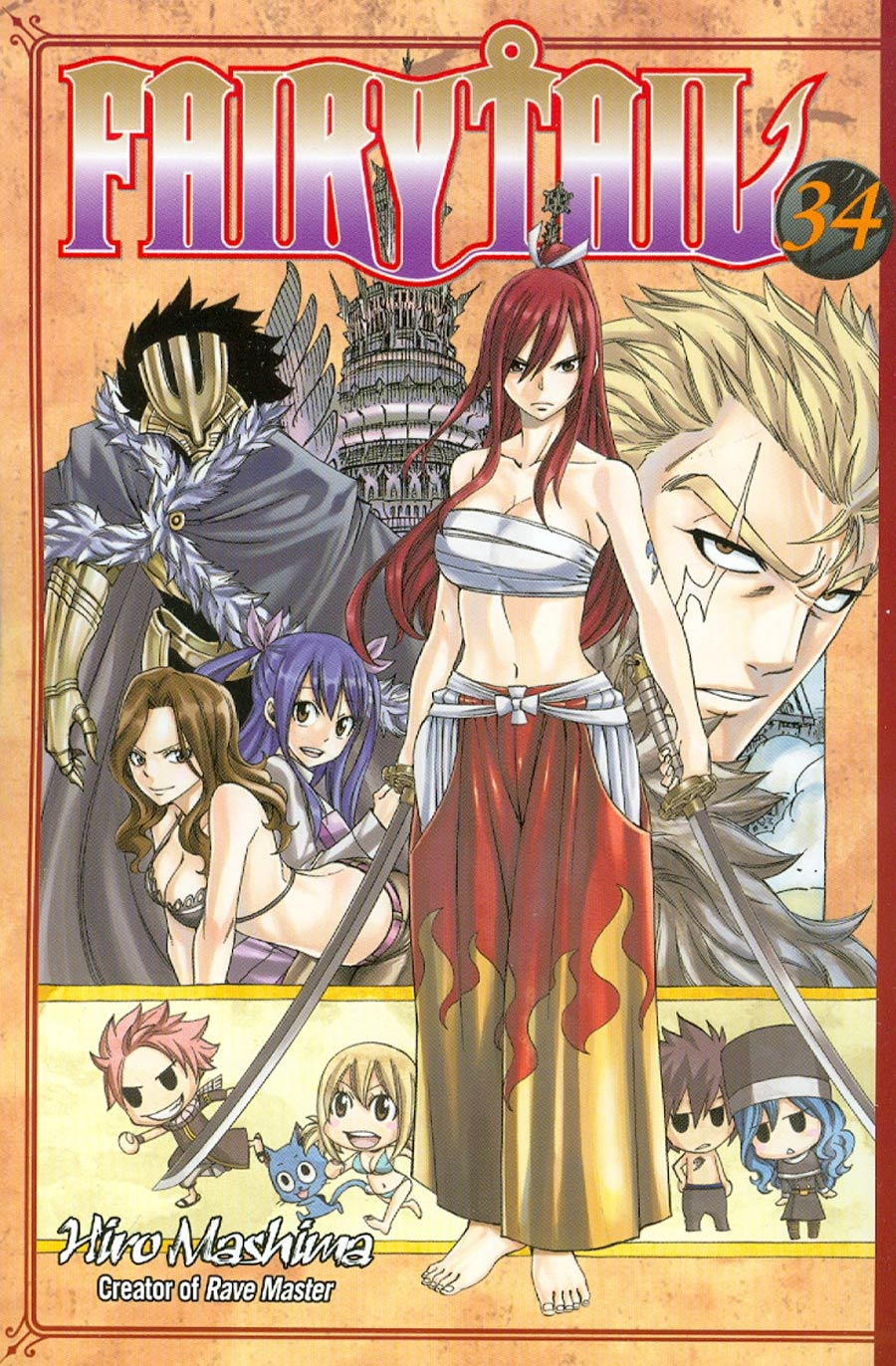Fairy Tail Vol 34 GN