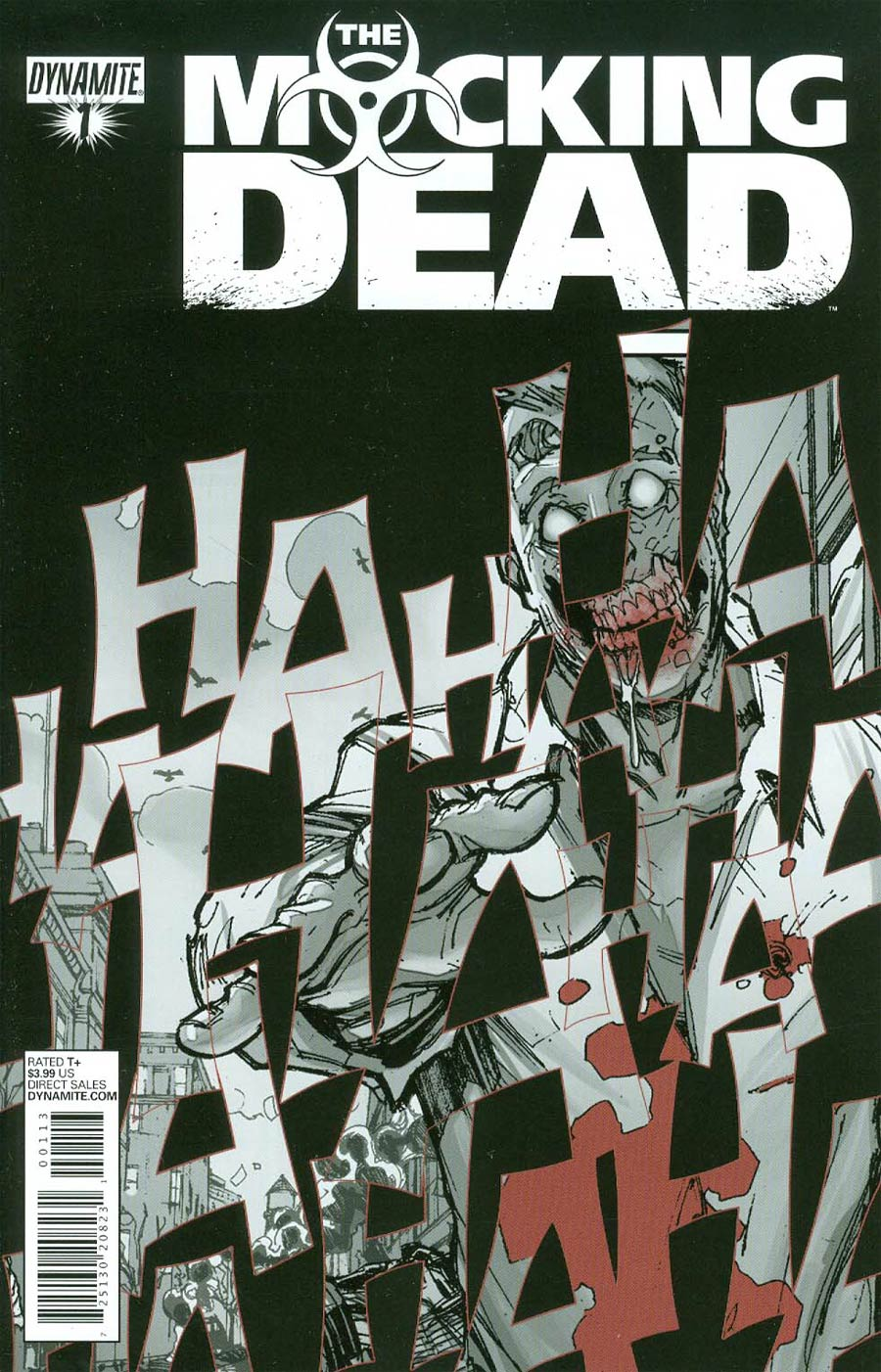 Mocking Dead #1 Cover D 3rd Ptg Zombie Laughter Cover
