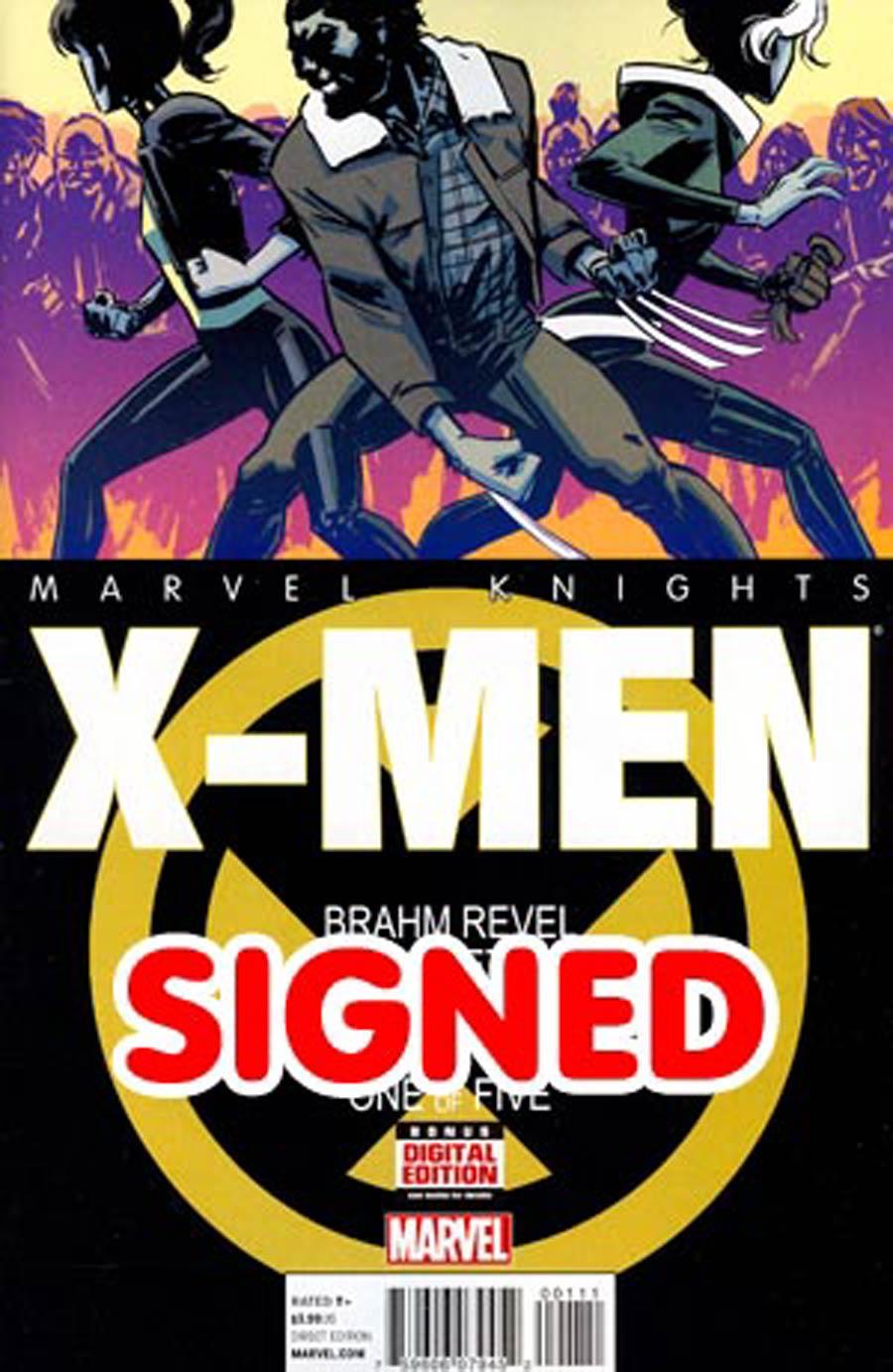 Marvel Knights X-Men #1 Cover D Regular Brahm Revel Cover Signed By Brahm Revel