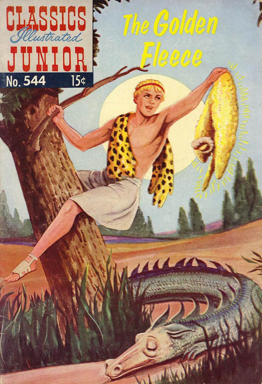 Classics Illustrated Junior #544