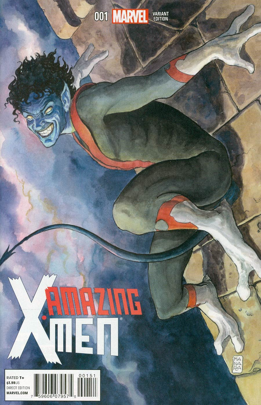 Amazing X-Men Vol 2 #1 Cover F Incentive Milo Manara Variant Cover