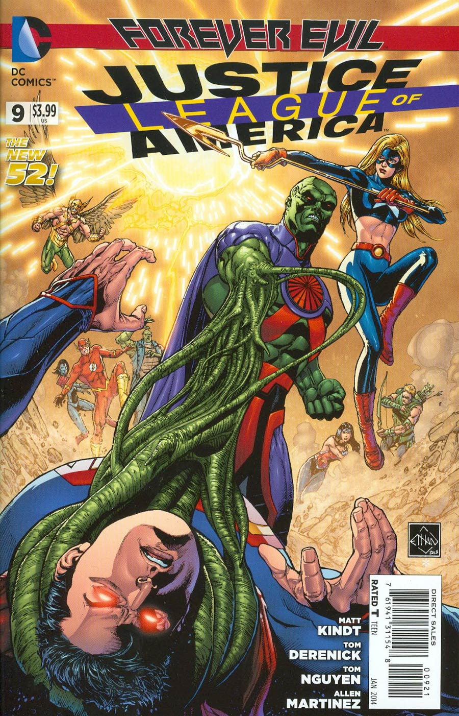 Justice League Of America Vol 3 #9 Cover D Incentive Ethan Van Sciver Variant Cover (Forever Evil Tie-In)