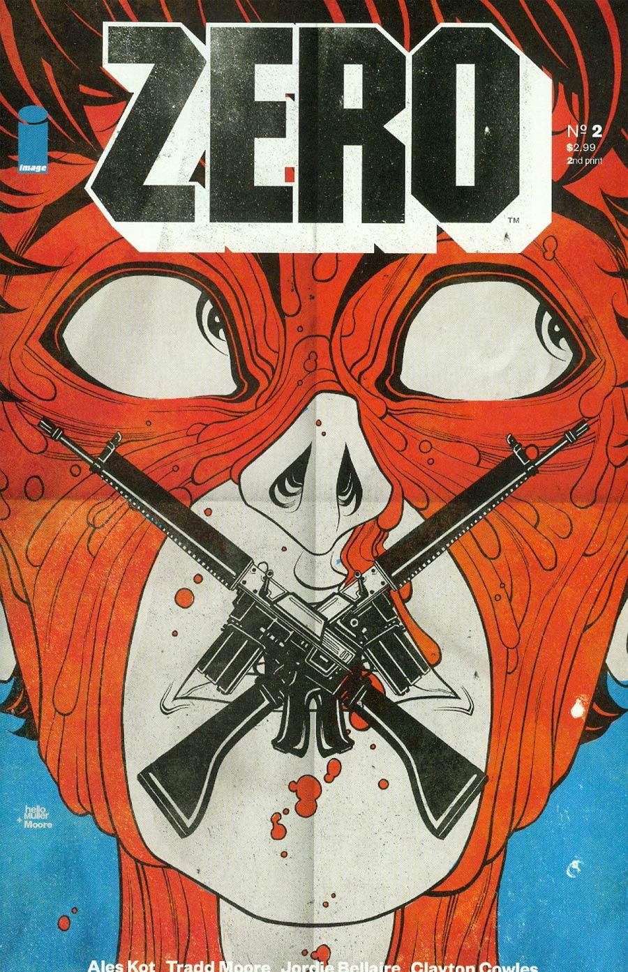 Zero #2 Cover C 2nd Ptg