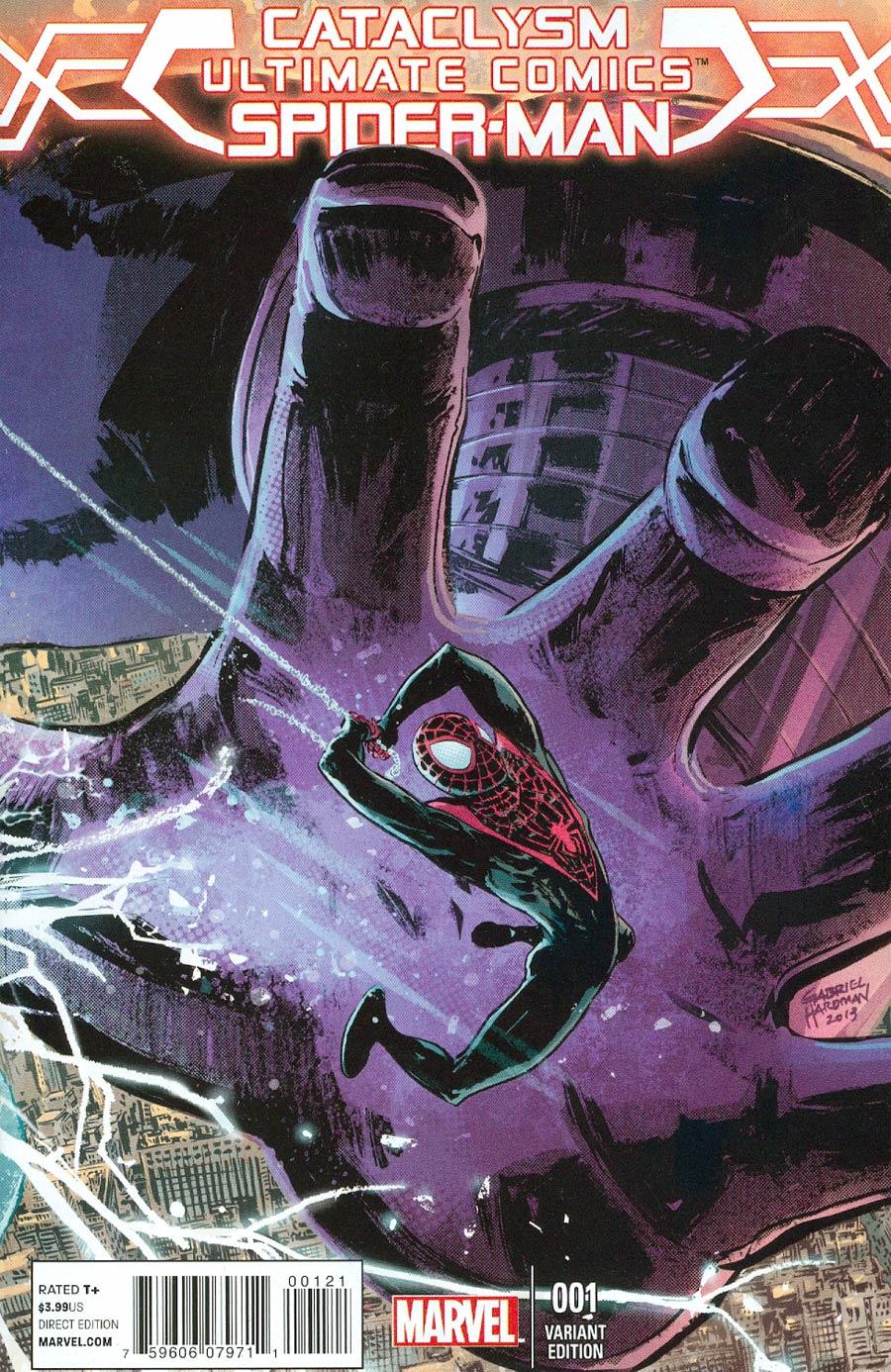 Cataclysm Ultimate Spider-Man #1 Cover B Incentive Gabriel Hardman Variant Cover