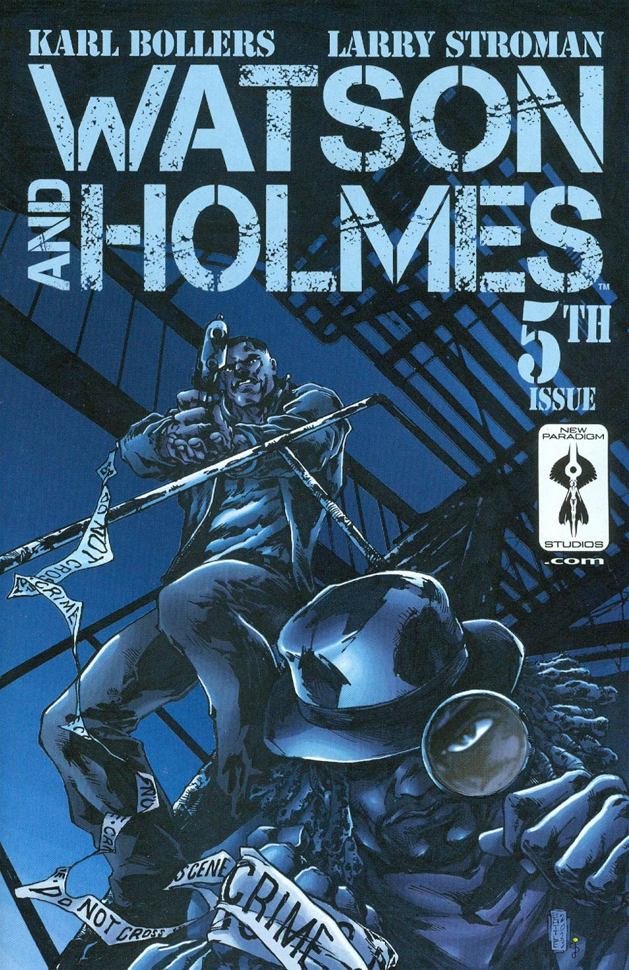 Watson And Holmes #5 Cover B Incentive Eric Battle Variant Cover