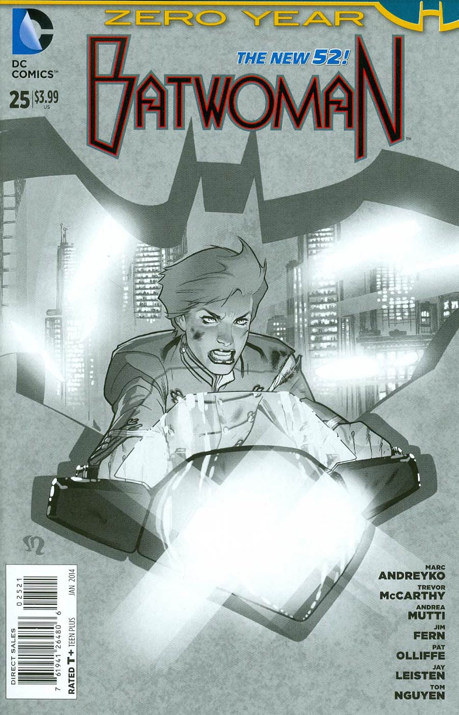 Batwoman #25 Cover B Incentive Stephane Roux Sketch Cover (Batman Zero Year Tie-In)