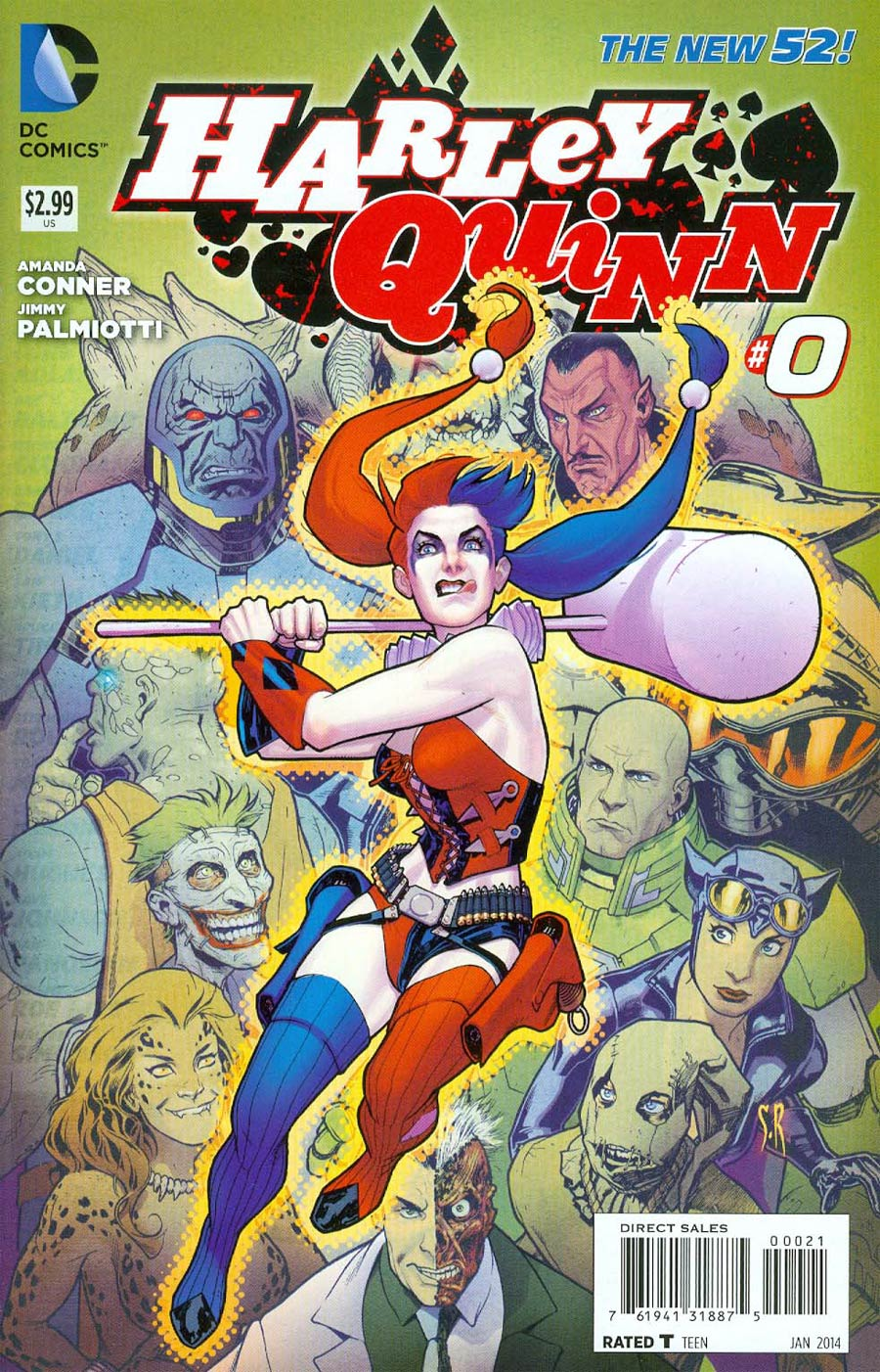 Harley Quinn Vol 2 #0 Cover C Incentive Stephane Roux Variant Cover