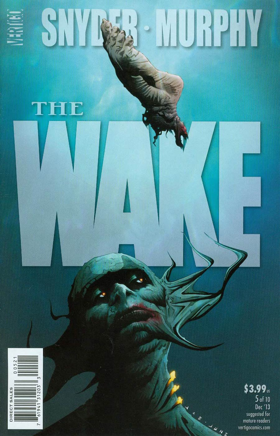 Wake #5 Cover B Incentive Jae Lee Variant Cover