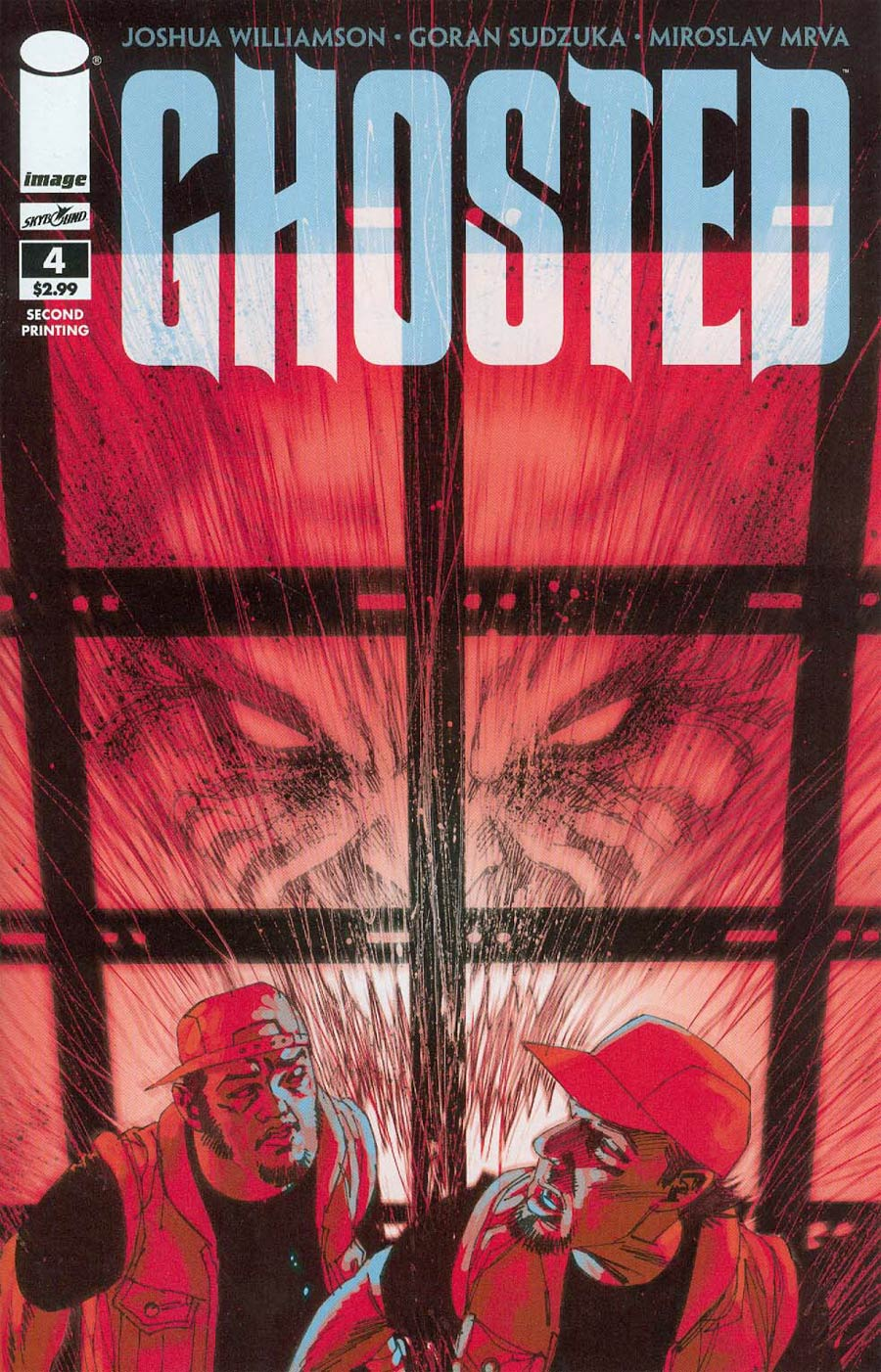 Ghosted #4 Cover B 2nd Ptg