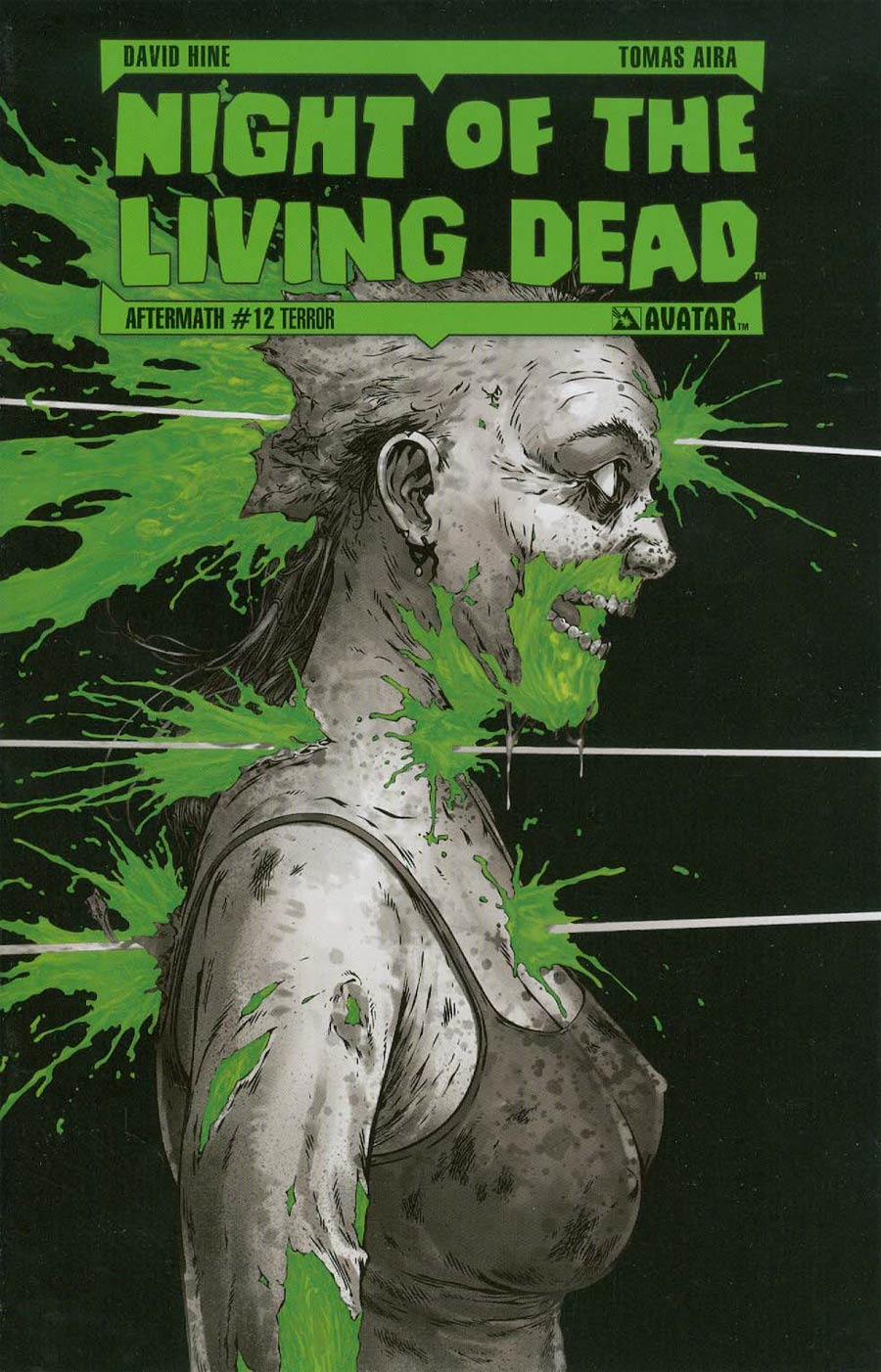 Night Of The Living Dead Aftermath #12 Cover D Incentive Terror Cover