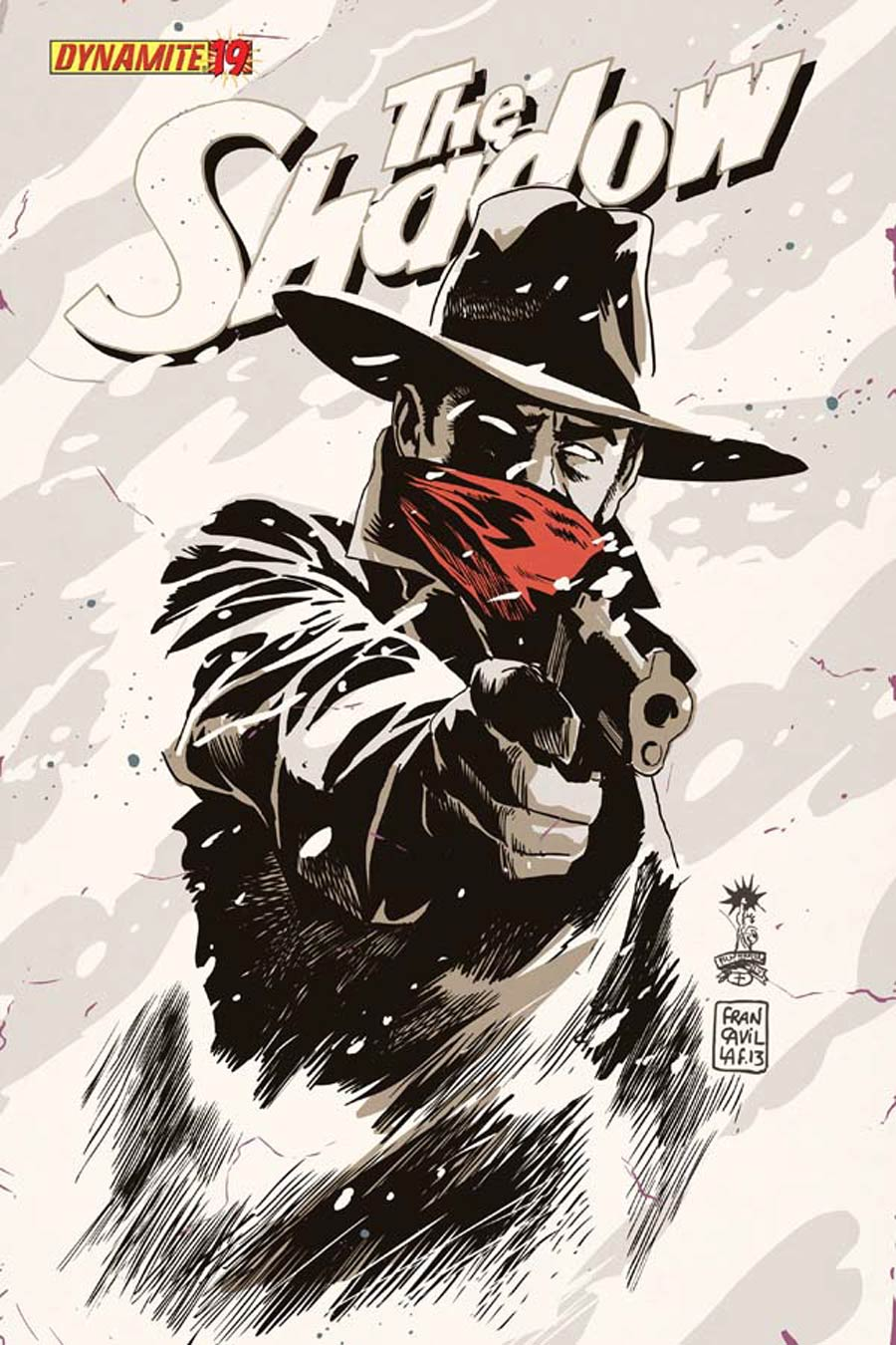 Shadow Vol 5 #19 Cover D Variant Francesco Francavilla Cover