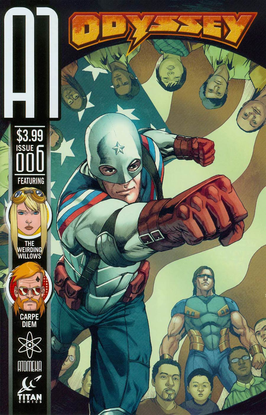 A1 Vol 2 #6 Cover C Odyssey