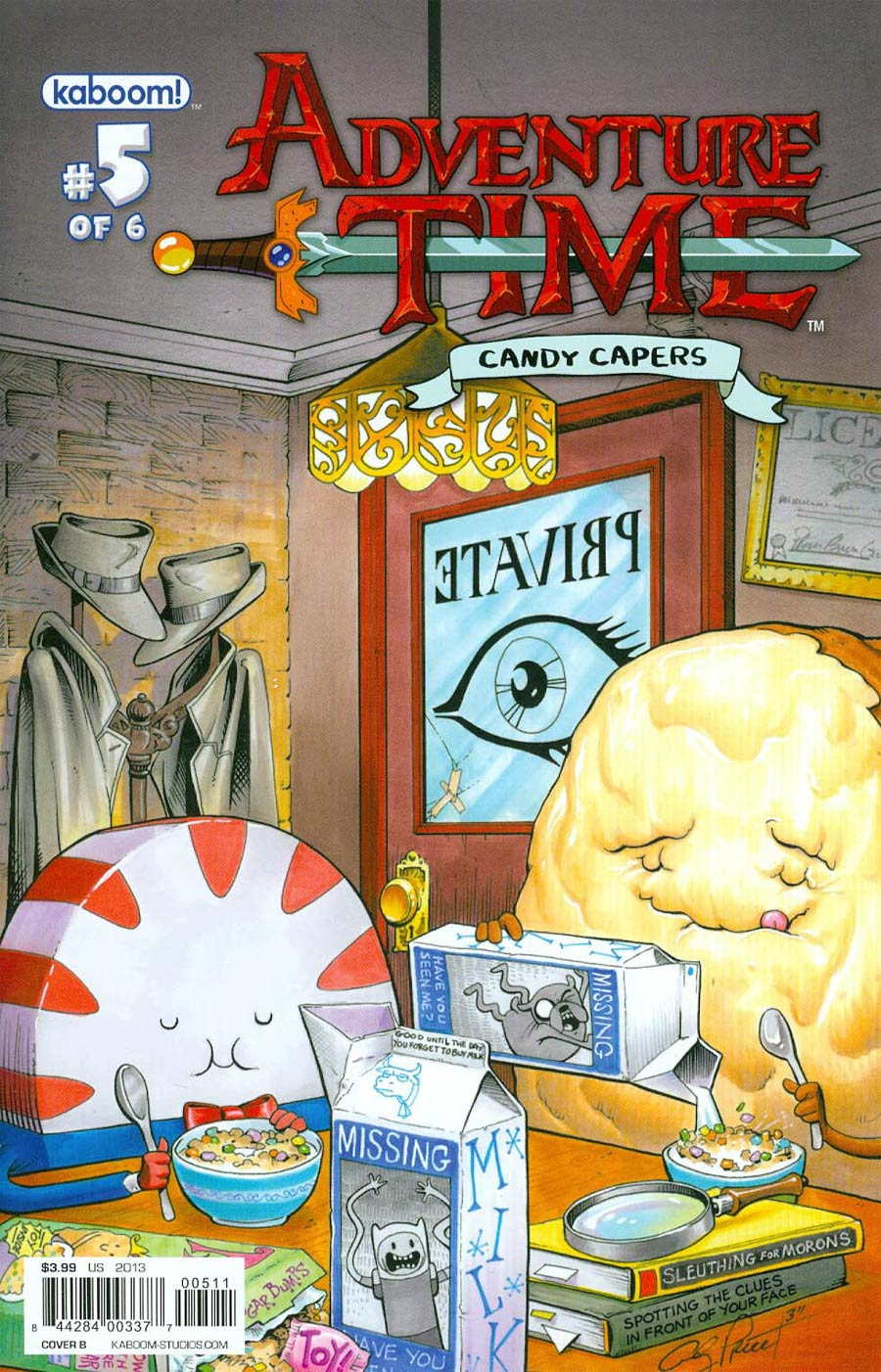 Adventure Time Candy Capers #5 Cover B Regular Andy Price Cover