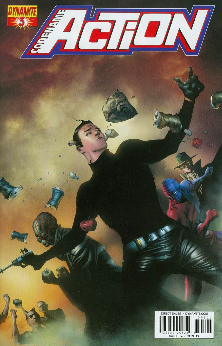Codename Action #3 Cover A Regular Jae Lee Cover