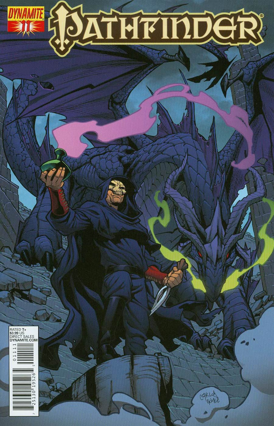 Pathfinder #11 Cover A Regular Carlos Gomez Cover