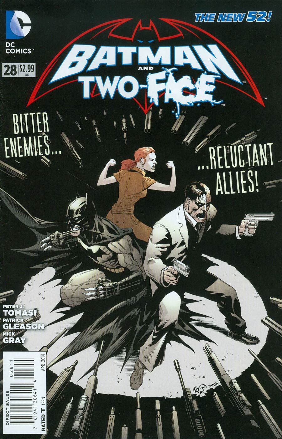 Batman And Two-Face #28 Cover A Regular Patrick Gleason Cover
