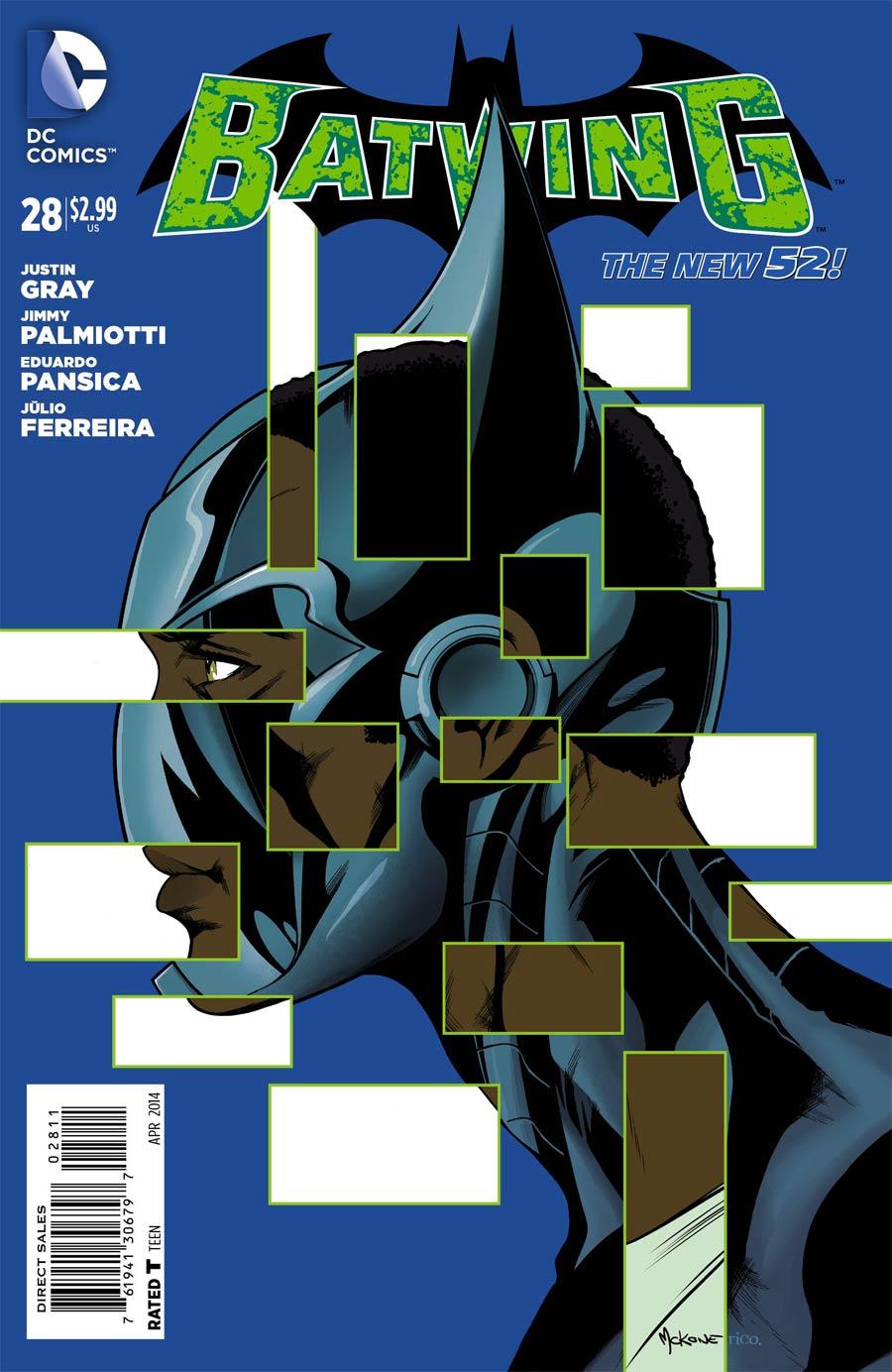 Batwing #28 (Gothtopia Tie-In)