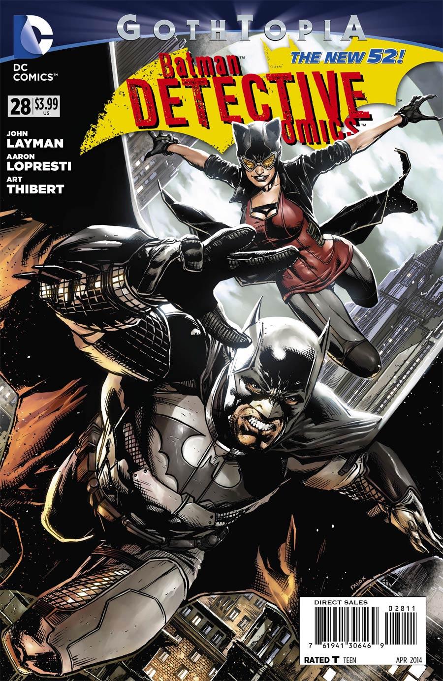 Detective Comics Vol 2 #28 Cover A Regular Jason Fabok Cover (Gothtopia Tie-In)