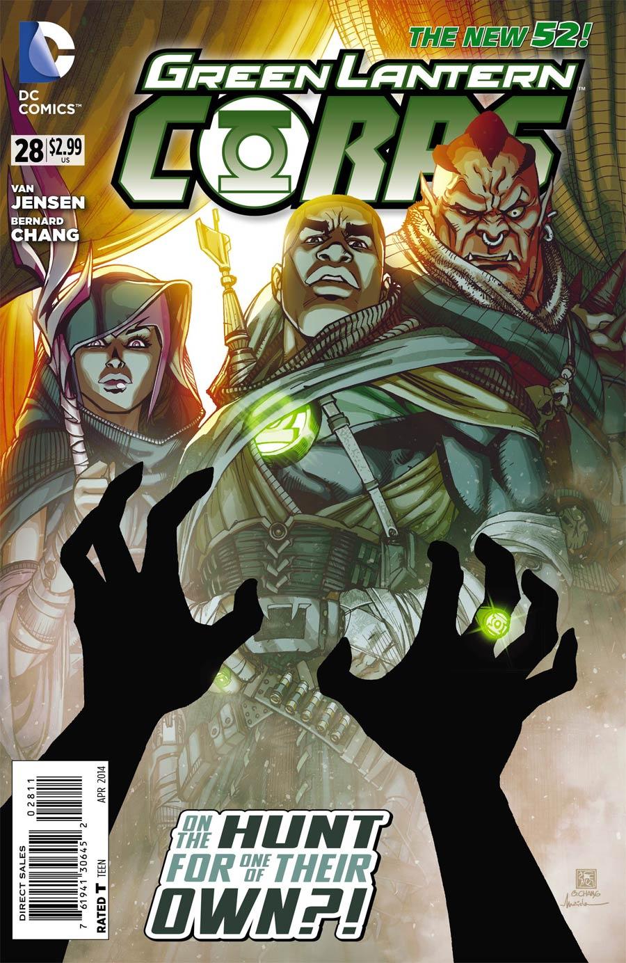 Green Lantern Corps Vol 3 #28 Cover A Regular Bernard Chang Cover