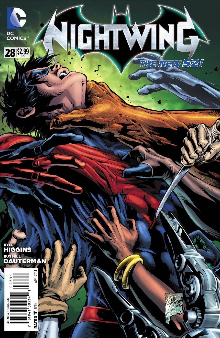 Nightwing Vol 3 #28 Cover A Regular Will Conrad Cover