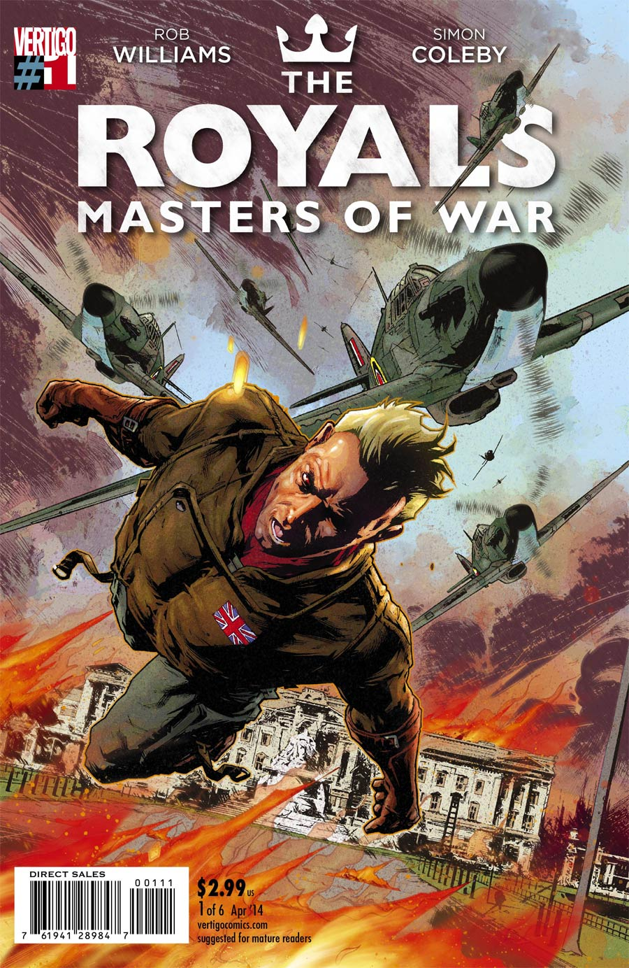 Royals Masters Of War #1 Cover A Regular Simon Coleby Cover