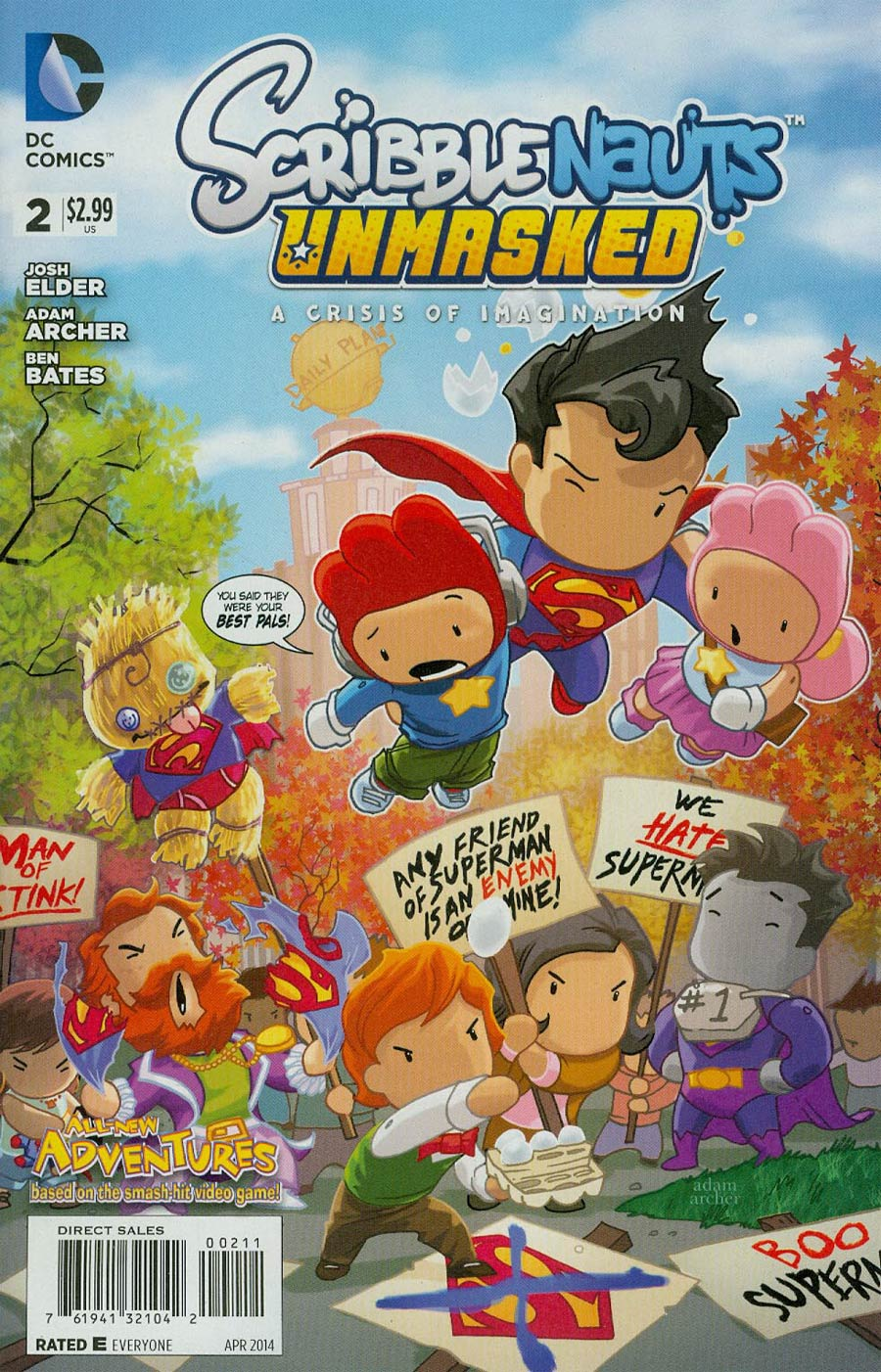 Scribblenauts Unmasked Crisis Of Imagination #2