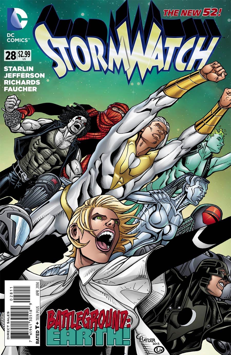 Stormwatch Vol 3 #28