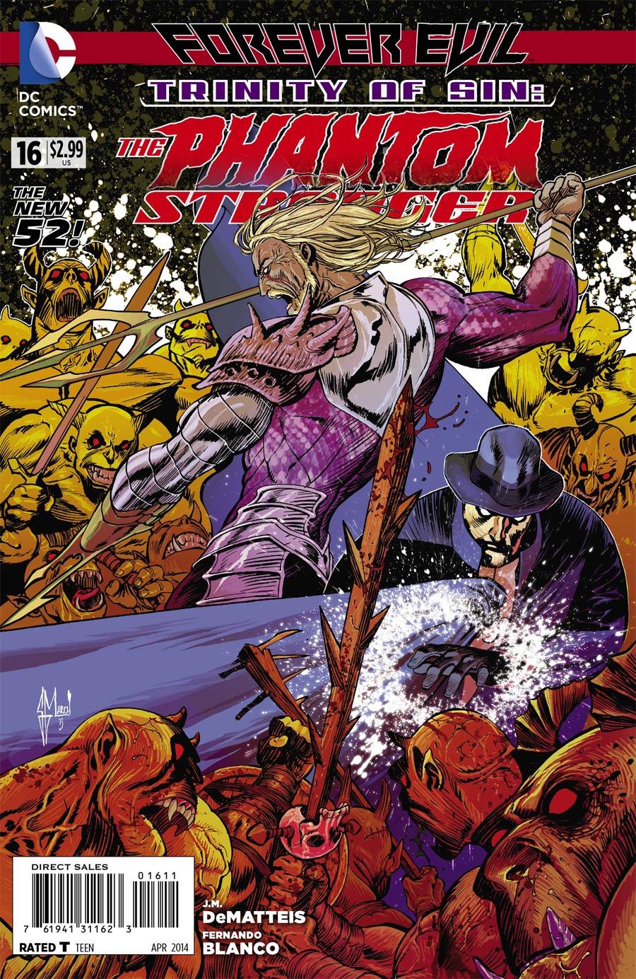 Trinity Of Sin Phantom Stranger #16 (Forever Evil Tie-In)
