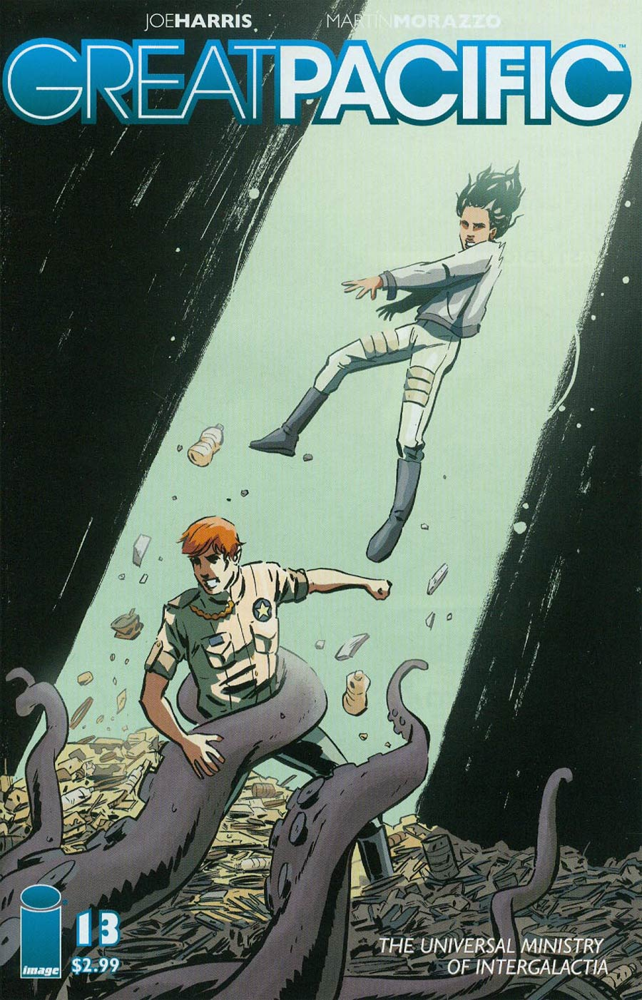 Great Pacific #13 Cover B Michael Walsh
