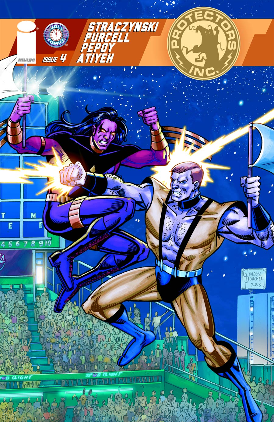 Protectors Inc #4 Cover A Gordon Purcell & Michael Atiyeh