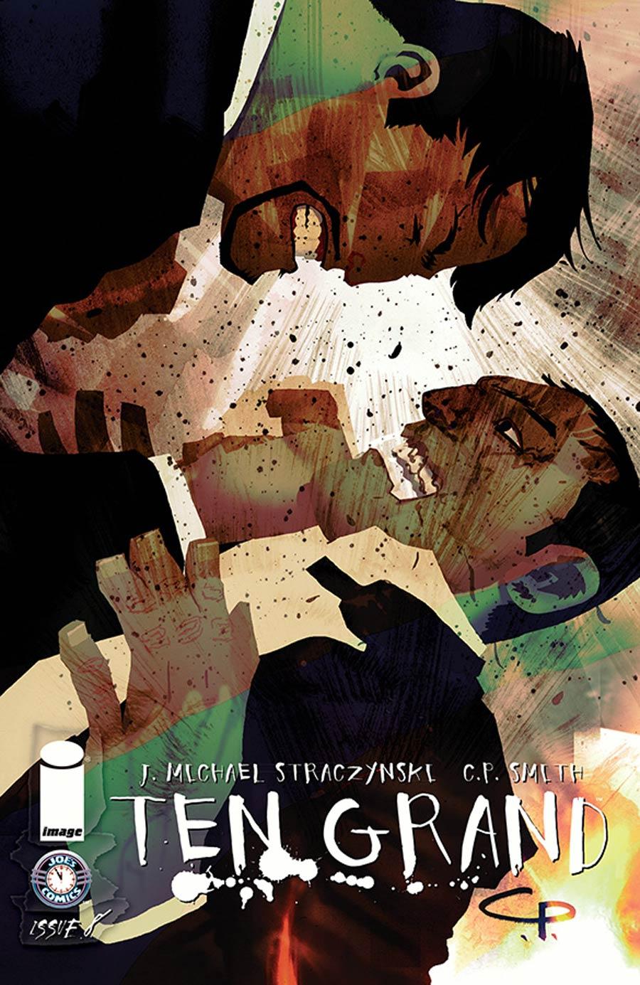 Ten Grand #8 Cover A CP Smith