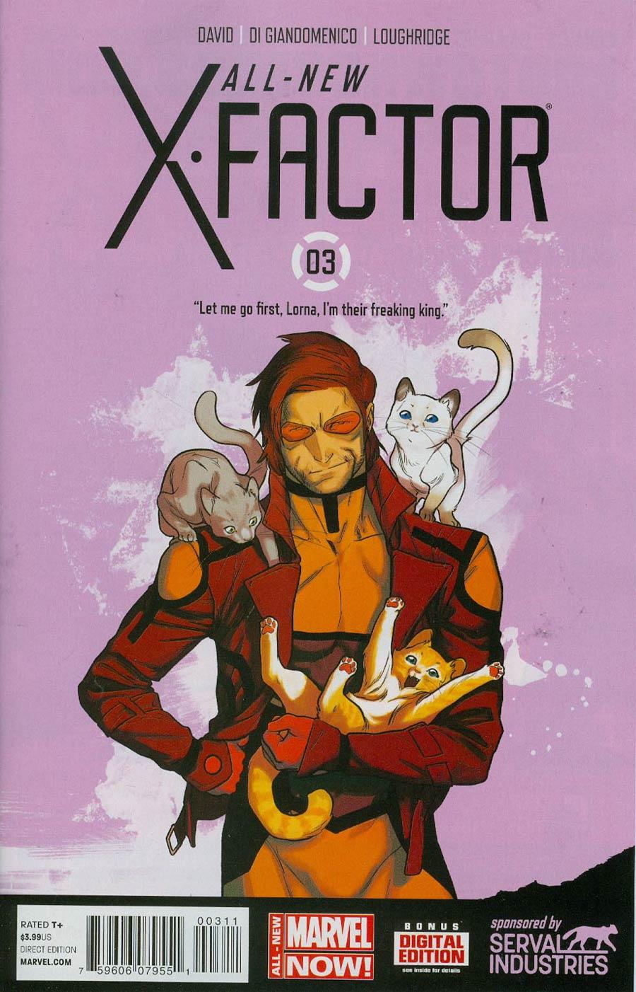 All-New X-Factor #3 Cover A Regular Kris Anka Cover