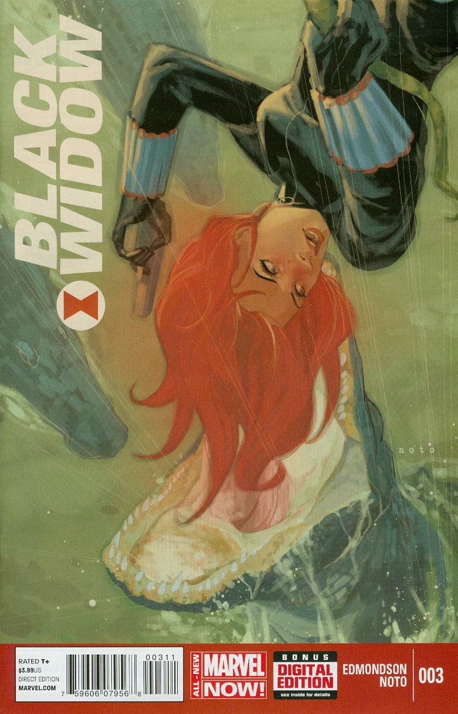 Black Widow Vol 5 #3 Cover A 1st Ptg Regular Phil Noto Cover
