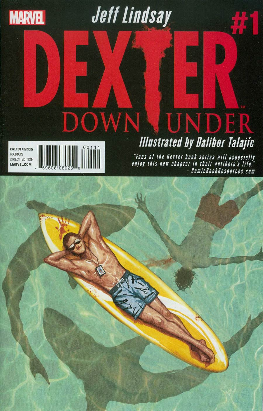 Dexter Down Under #1 Cover A Regular Michael Del Mundo Cover