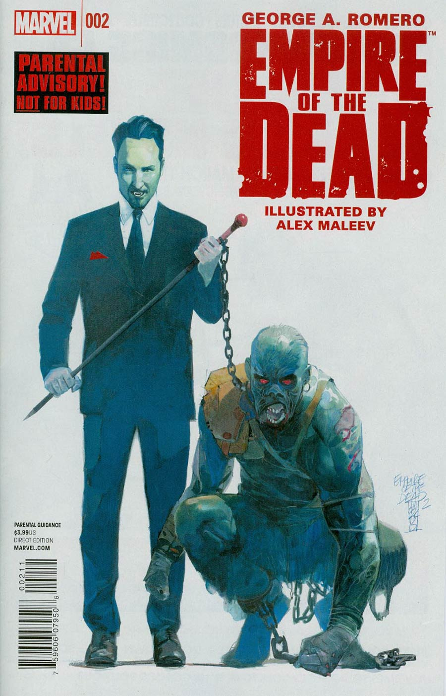 George Romeros Empire Of The Dead Act One #2 Cover A Regular Alex Maleev Cover