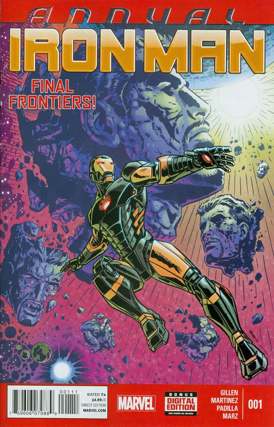 Iron Man Vol 5 Annual #1