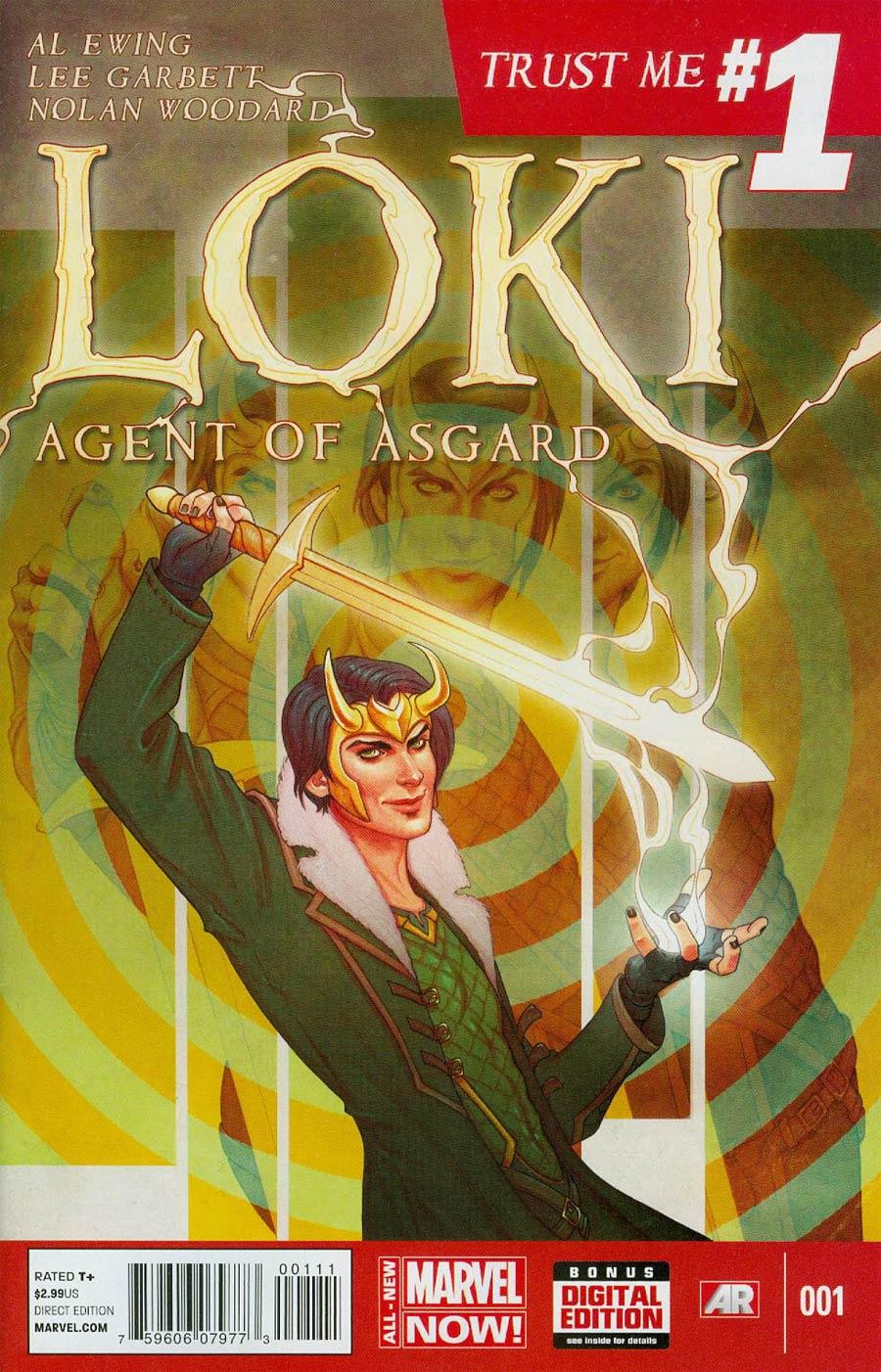 Loki Agent Of Asgard #1 Cover A 1st Ptg Regular Jenny Frison Cover