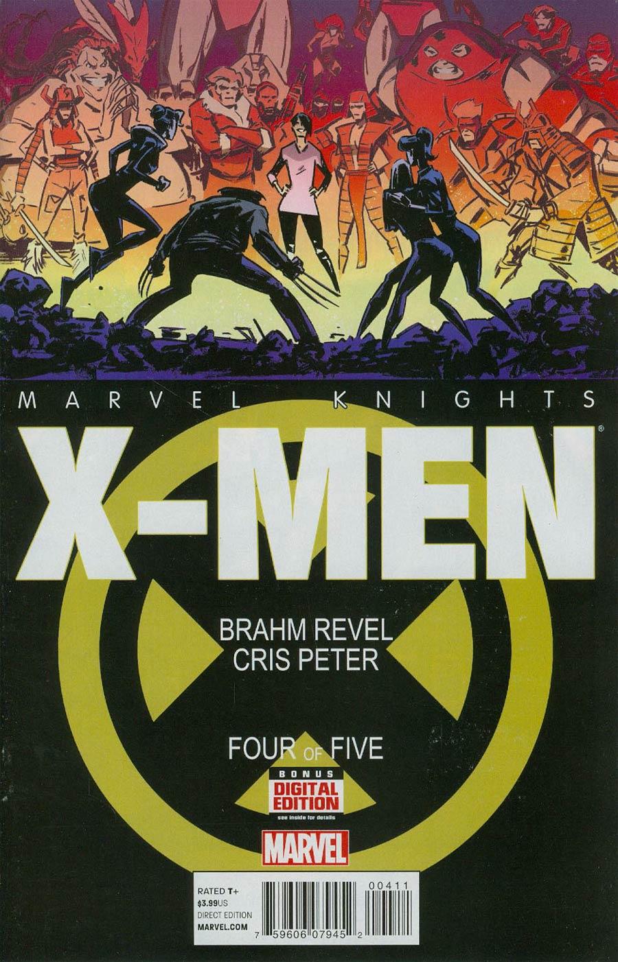 Marvel Knights X-Men #4