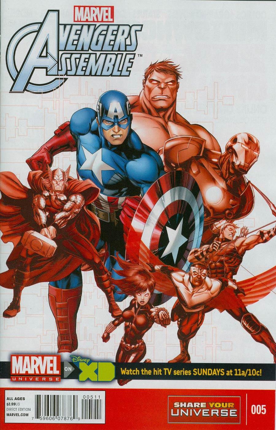 Marvel Universe Avengers Assemble #5