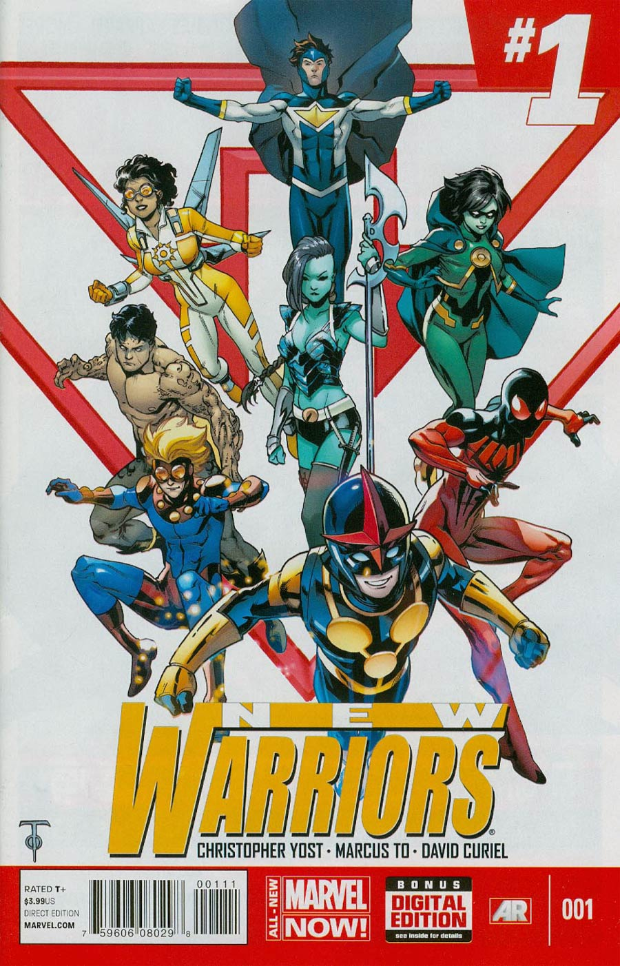 New Warriors Vol 5 #1 Cover A 1st Ptg Regular Marcus To Cover